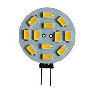 baratos Luzes LED de Dois Pinos-SENCART 1pç 5 W 360 lm G4 / MR11 Luminárias de LED  Duplo-Pin T 12 Contas LED SMD 5630 Decorativa Branco Quente / Branco 12 V