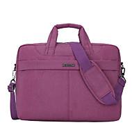 billige Computertasker-Nylon Laptoptaske Lynlås Lilla / Sort Grå / Lys pink
