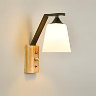 billige Vegglamper-Mini Stil Moderne / Nutidig / Retro Rød Vegglamper Stue / Soverom Metall Vegglampe 110-120V / 220-240V 60 W