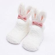 billige Undertøj og sokker til babyer-Nyfødt Pige Aktiv Daglig Ensfarvet Polyester Sokker & Strømper Navyblå / Grå / Lyseblå S / M