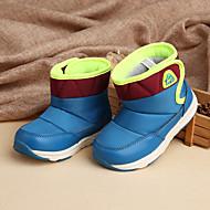 baratos Sapatos de Menina-Para Meninos / Para Meninas Sapatos Couro Ecológico Inverno / Outono & inverno Botas de Neve Botas Caminhada Combinação para Infantil Azul / Khaki / Azul Real / Botas Cano Médio