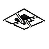 billige Taklamper-Originale Skyllmonteringslys Omgivelseslys Malte Finishes Metall Flerskjerms, Øyebeskyttelse, Justerbar 110-120V / 220-240V Hvit / Dimbar med fjernkontroll / Varm hvit + hvit
