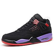 baratos Sapatos Masculinos-Homens Sapatos Confortáveis Sintéticos Outono Esportivo / Vintage Tênis Basquete Massgem Branco / Preto