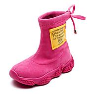 baratos Sapatos de Menino-Para Meninos / Para Meninas Sapatos Microfibra / Couro Ecológico Primavera & Outono / Inverno Botas de Neve / Coturnos Botas para Infantil / Adolescente Preto / Pêssego / Khaki