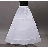 Prenses Klasik Lolita Lolita Kadın's İç Etek tüt Etek ALTI Kabarık etek Cosplay Beyaz Yere Kadar Uzun (L) Kostümler