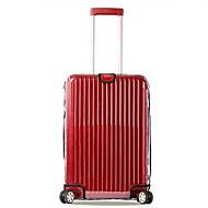 Χαμηλού Κόστους Τσάντες-PVC Κάλυμμα αποσκευών Φερμουάρ Λευκό