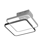 ZHISHU geometrisk Takmonteret Baggrundsbelysning Malede finish Metal Kreativ 110-120V / 220-240V Varm Hvid / Hvid