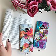 Etui Til Samsung Galaxy S9 Plus / S9 Syrematteret / Mønster Bagcover Marmor Hårdt PC for S9 / S9 Plus / S8 Plus