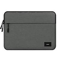 billige Computertasker-Oxfordtøj Laptoptaske Lynlås Kaffe / Mørkegrå / Lysegrå