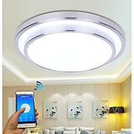 billige Taklamper-moderne wifi ledd taklampe app kontroll taklampe for stue familie hjemme belysning luminaria ac110-240v