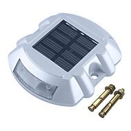 cheap Outdoor Lighting-1pc 2 W Lawn Lights / Led Street Light / Solar Wall Light Waterproof / Solar / Decorative White / Red / Blue 1.2 V Outdoor Lighting / Courtyard / Garden 6 LED Beads