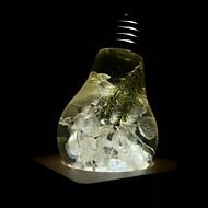 billige Globepærer med LED-E.P.LIGHT 1pc 3 W 160/ E26 / E27 LED-globepærer A60(A19) 1 LED perler Høyeffekts-LED Kreativ / Fest / Dekorativ Varm hvit 90-240 V