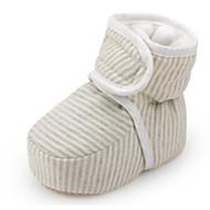 baratos Sapatos de Menina-Para Meninos / Para Meninas Sapatos Algodão Inverno Conforto / Primeiros Passos Botas para Bebê Amêndoa / Verde Claro / Botas Curtas / Ankle