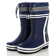 baratos Sapatos de Menina-Para Meninos / Para Meninas Sapatos Borracha Primavera & Outono Botas de Chuva Botas para Infantil Azul Marinho / Preto / Vermelho / Black / azul