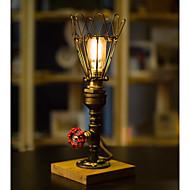 billige Lamper-Rustikk / Hytte Dekorativ Bordlampe Til Soverom / Leserom / Kontor Metall 220V