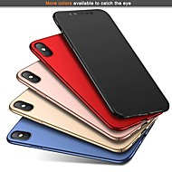 Etui Til Apple iPhone XS / iPhone XR / iPhone XS Max Ultratynn / Matt Bakdeksel Ensfarget Hard PC