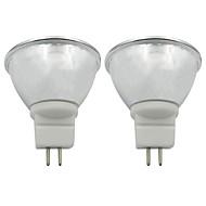 billige Spotlys med LED-2pcs 3.5 W 250-270 lm GU5.3 LED-spotpærer 1 LED perler COB Varm hvit / Kjølig hvit 220-240 V / 110-120 V