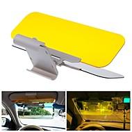 tanie Dekoracje-przeciwodblaskowy auto samochód osłona przeciwsłoneczna dzień noc hd wizja jazdy lustro odcień osłona wzroku