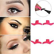 Eyeliner / Lidstrich Einfach zu tragen / Formaldehyd-frei Bilden 2 pcs Silikon Kosmetik / Gesicht Spezialmodell / Modern Hochzeitsfeier / Freizeitskleidung Alltag Make-up / Halloween Make-up / Cateye