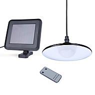 billige Utendørs Lampeskjermer-1pc 3 W Led Street Light / Solar Wall Light Vanntett / Solar / Lysstyring Hvit 3.2 V Utendørsbelysning / Courtyard / Have 4 LED perler