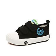 baratos Sapatos de Menino-Para Meninos / Para Meninas Sapatos Lona Primavera / Verão Conforto Tênis para Bébé Preto / Azul Escuro / Vermelho