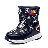 baratos Sapatos de Menina-Para Meninos / Para Meninas Sapatos Couro Ecológico Inverno Botas de Neve Botas Velcro para Infantil Roxo / Azul / Rosa claro / Botas Cano Médio