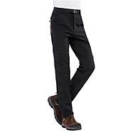 สำหรับผู้ชาย Hiking Pants กันลม, กันน้ำ, Warm แคมป์ปิ้ง & การปีนเขา / Skiing เส้นใยสังเคราะห์ กางเกง Ski Wear / ฤดูหนาว / ฤดูหนาว