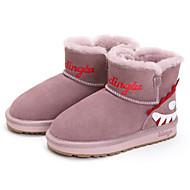 baratos Sapatos de Menino-Para Meninos / Para Meninas Sapatos Pele Inverno Botas de Neve Botas para Infantil Cinzento / Verde Tropa / Rosa claro