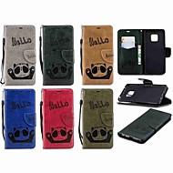 billiga Mobil cases & Skärmskydd-fodral Till Huawei Huawei Mate 20 Lite / Huawei Mate 20 Pro Plånbok / Korthållare / med stativ Fodral Panda Hårt PU läder för Mate 10 lite / Huawei Mate 20 lite / Huawei Mate 20 pro