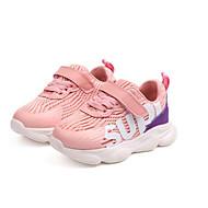 baratos Sapatos de Menina-Para Meninos / Para Meninas Sapatos Couro Ecológico Primavera & Outono Conforto Tênis Elástico / Velcro para Infantil / Bébé Branco / Vermelho / Rosa claro