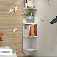 billige Veggdekor-Huse / Plasser Veggdekor PVC skum styret Europeisk / Parfymert Veggkunst, Veggtepper / Wall Hyller og Åk Dekorasjon