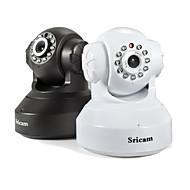 billige Innendørs IP Nettverkskameraer-sricam® sp005 1mp ip kamera innendørs støtte 128gb tf