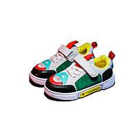 baratos Sapatos de Menino-Para Meninos / Para Meninas Sapatos Couro Ecológico Outono & inverno Conforto Tênis Elástico / Velcro para Infantil / Bébé Branco / Preto / Cinzento