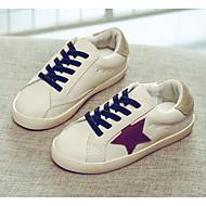 baratos Sapatos de Menina-Para Meninos / Para Meninas Sapatos Sintéticos Primavera Verão / Outono & inverno Conforto Tênis Velcro para Bébé Branco