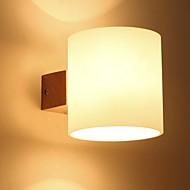 olcso Fali rögzítők-Menő Modern Kortárs Fali lámpák Hálószoba Fa / Bambusz falikar 220-240 V 40 W