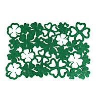 billige Bordduker-hjemme multifunksjon kreativ grønn dekorasjon fireblå grønn isolasjonspute ihålig anti-scalding placemat