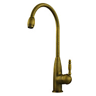 Kuhinja pipa - One Hole Antique Brass Visok / High Arc Munkalapra szerelhető Starinski Kitchen Taps / Jedan Ručka jedna rupa