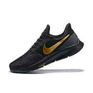 Men's Light Soles Elastic Fabric Spring &  Fall Athletic Shoes Breathable Black / Yellow / Shock-absorbing