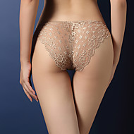 Mujer Súper Sexy Tanga - Encaje, Un Color Baja cintura / Noche / Discoteca