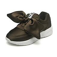 baratos Sapatos de Menina-Para Meninas Sapatos Seda Outono & inverno Conforto Tênis Laço para Infantil / Adolescente Vermelho / Verde / Rosa claro