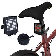billige Sykkellykter og reflekser-Baklys til sykkel / sikkerhet lys LED Sykkellykter Sykling Vanntett, Bærbar, Fjernkontroll Oppladbart Li-ion Batteri 1000 lm Oppladbar Rød Sykling