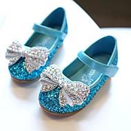 baratos Sapatos de Menina-Para Meninas Sapatos Sintéticos Primavera & Outono Sapatos para Daminhas de Honra / Salto minúsculos para Adolescentes Saltos para Adolescente Prata / Fúcsia / Azul