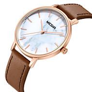 billige Quartz-Dame Armbåndsur Quartz Brun Afslappet Ur Analog Mode - Rose Guld / Rustfrit stål