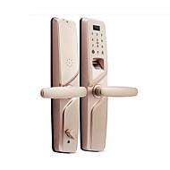 billige Dørlås-Factory OEM Sinklegering Lås / Intelligent Lås Smart hjemme sikkerhet System RFID / Fingeravtrykk opplåsing / Lås opp passord Husholdning / Hjem / Hjem / kontor Wooden Door / Komposittdør (Lås opp