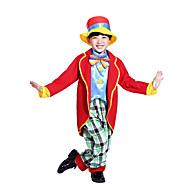 Burlesque / Clown ละครสัตว์ Party Costume เด็กผู้ชาย เด็กผู้หญิง สำหรับเด็ก สนุกสนานและ Reluctant วันฮาโลวีน วันคริสต์มาส วันฮาโลวีน เทศกาลคานาวาล Festival / Holiday Polyster ชุด ทับทิม