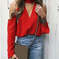 여성용 솔리드 크루넥 티셔츠, 스트리트 쉬크 블랙 M