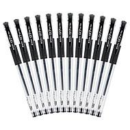 12 pcs M&G Q7 0.7 mm جل حبر القلم دائم