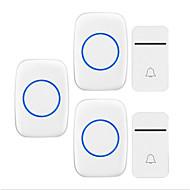 billige Dørklokkesystemer-Trådløs To til tre dørklokke Musikk / Ding dong Ikke-visuelle ringeklokke Overflate Montert