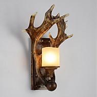 billige Vegglamper-Kreativ Land Vegglamper Innendørs Harpiks Vegglampe 220-240V 40 W
