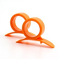olcso Otthon & kert-6db konyhai eszközök PP (Polypropylene) Környezetbarát Ergonómikus dizájn Könnyen hordozható Különleges eszközök Vágószerszámok Ebédlő és konyha Gyümölcs Praktikus  konyhai eszközök Narancssárga